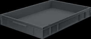Pojemnik, skrzynia HDPE o wymiarach 600x400x75