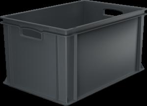 Pojemnik, skrzynia HDPE o wymiarach 600x400x320