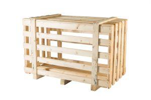 Skrzynia ażurowa drewniana 1700 x 950 x 1130 mm