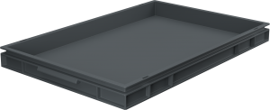 Pojemnik, skrzynia HDPE o wymiarach 600x400x50