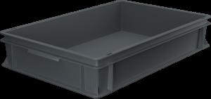 Pojemnik, skrzynia HDPE o wymiarach 600x400x120