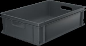 Pojemnik, skrzynka HDPE o wymiarach 600x400x170