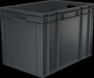 Pojemnik, skrzynia HDPE o wymiarach 600x400x420