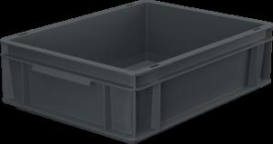 Pojemnik, skrzynia HDPE o wymiarach 400x300x120