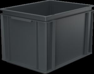 Pojemnik, skrzynia HDPE o wymiarach 400x300x270