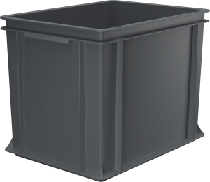 Pojemnik, skrzynia HDPE o wymiarach 400x300x320