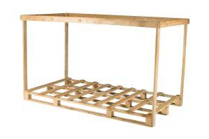 Skrzynia drewniana 2180x1180x1430 mm.
